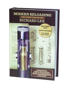 90277 LEE MODERN RELOADING MANUAL - 2ND EDITION - BRAND NEW - FREE SHIPPING