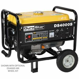 Generator Gas Powered Portable 3300 Running Watts 4000 Starting Watts Heavy Duty