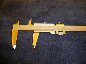 Mitutoyo 9 Inch Vernier Calipers Excellent Condition