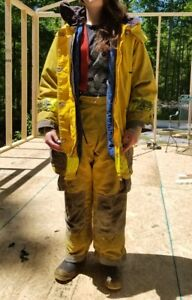 1989 1991 Cairns And Brothers Firefighter Turnout Bunker Gear