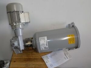 Bijur Delimon Fza04a13aa00 Lubrication Pump 230 460 Motor 4 Outlet Fz a