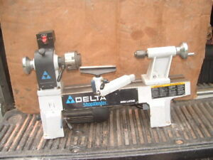 Delta Model La 200 Wood Lathe Shopmaster Midi Mini Wood Working Heavy Duty