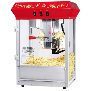 Popcorn Machine All Star Home Appliance Warming Deck Included Free 25 Bags 8 Oz