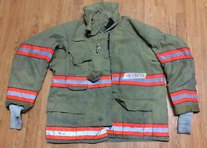 Cairns Rs1 Firefighter Turnout bunker Coat 48 Chest X 32 Length 2005