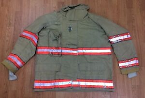 Cairns Rs1 Firefighter Turnout bunker Coat 48 Chest X 32 Length 05