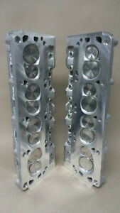 Rhs Roush 200cc Aluminum Cylinder Heads Ford Sbf Sold As A Pair