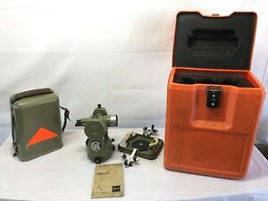 Kern Swiss K1 se Engineer Theodolite With Case manual Excellent Condition