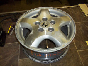 1998 1999 2000 Honda Accord Wheel 6 Cylinder Lug 15x6 1 2 Alloy 5 Spoke Smooth
