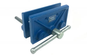 Bench Front Vise Woodworking Work Large Portable Wood Heavy Tool Drill Holes