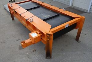 Eriez Permanent Suspended Conveyor Magnet Cp 20 80 S2 6 X 30 Hydraulic Driven