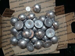 15+ lbs   Reclaimed Clean soft Lead Ingots for reloading or fishing.