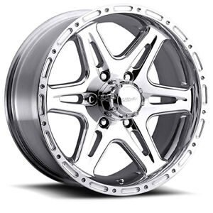 17 X9 Ultra Badlands 208p Polished 8x6 5 0 Et 207 7981p Rims Wheels