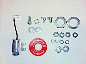Generator Detail Kit For Delco Oil Cups Noise Suppressor Warning Tag Hardware