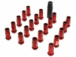 Muteki Sr48 Extended Racing Lug Nuts M12x125mm Red 20pcs