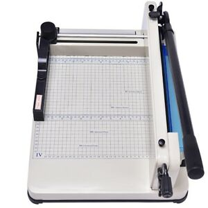12 A4 Home Office Paper Guillotine Photo Card Cutter Trimmer Machine Tool Us