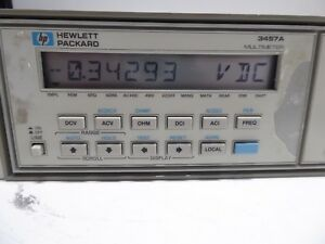 Hp 3457a Digital Multimeter
