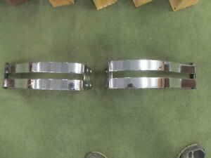 1928 1929 Ford Model A Coupe Roadster Sedan Tudor Rear Bumpers Very Nice Chrome
