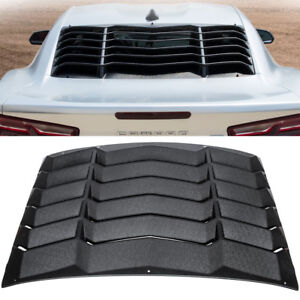 Rear Window Louver Gt Lambo Style Sunshade Cover For Chevy Camaro 2016 2017 2018