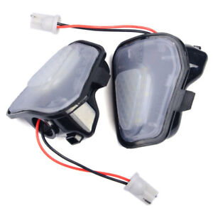 For Vw Cc Eos Passat Scirocco A Pair Led Side Mirror Puddle Lights No Error