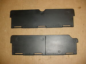 02 03 04 05 Dodge Ram 1500 2500 Center Console Removable Dividers Pair Oem
