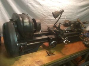 Th42 10 Atlas Turret Lathe With Compound Cross Slide Single Tail Stock Extras