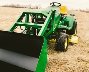 Front End Loader For John Deere Garden Tractor
