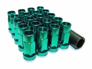 Muteki Sr48 Extended Racing Lug Nuts M12x125mm Green 20pcs