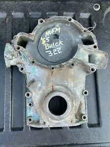 53 54 55 56 Gm Buick 264 322 Nailhead Engine Water Pump Timing Chain Gear Cover