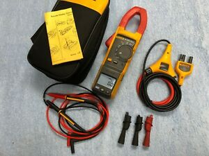Fluke 381 Remote Wireless Display Trms Clamp Meter With Iflex 2500 18