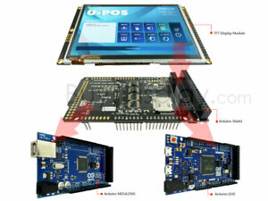 5 Tft Lcd Capacitive Touchscreen W shield For Arduino Due Mega2560 Uno 480x272