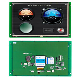 10 1 Tft Lcd Touch Screen Resistance Touch Panel For Digital Lcd Thermostat