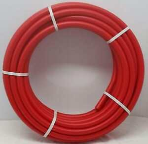 Certified Non Barrier 1 500 Coil red Pex Tubing Htg plbg potable Water