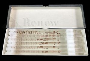 12 New Fisherbrand Class 1 10ml In 1 100 Tissupet Short Serological Glass Pipets