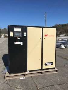 2 Brand New 2012 Ingersoll Rand Ga Irn75h Air Compressor With Dryer 50 000 00