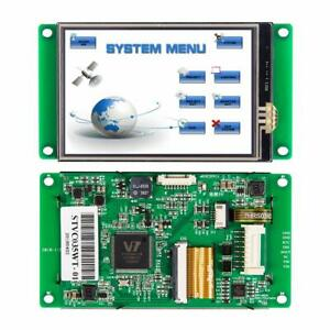 3 5 Inch Hmi Smart Tft Lcd Dsiplay Module With Touch Control program uart Port