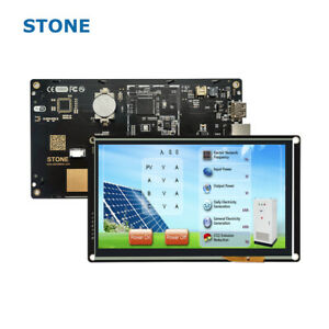 7 Inch Display Module Hmi Tft Lcd Stone Touch Screen For Industrial