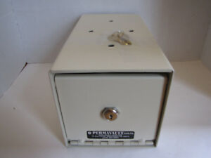 Perma Vault Under Counter Locking Drop Cash Box Permavault Safe Co