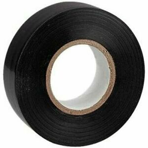 10 Rolls 50 Ft General 0 7 Inch Vinyl Pvc Black Insulated Electrical Tape Lot