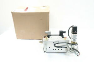 New Monarch 11061 y Hydraulic Solenoid Valve Assembly 120v ac