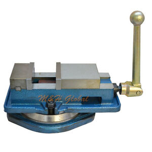 3 Ang lock Precision Milling Machine Vise With Swivel Base