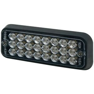 Ecco Sae Class I Clear Surface Mount Strobe Compact Led 3510c
