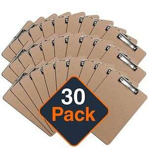 Paper Clipboard A4 Lot Clip Board Folder Heavy Duty Clipboards Nursing Binder
