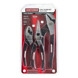 Craftsman 3 Piece Pliers Set