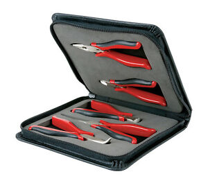 Craftsman 5 Piece Mini Pliers Set With Zippered Case