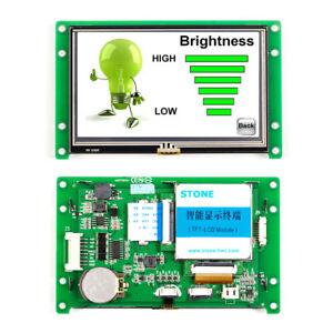 Stone Industrial Embedded 4 3 Tft Lcd Module With Mainboard Software