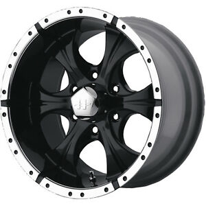 18x9 Black Helo He791 5x5 12 Rims Nitto Trail Grappler 285 65 18 Tires