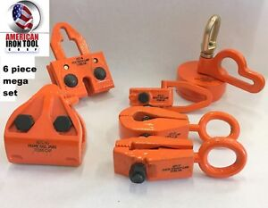 Auto Body Frame Machine 6 Piece Tool And Clamp Set Special Pricing Free Shipping