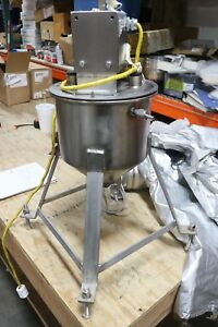 Stainless Lab Mixer 115v Heavy Duty Laboratory