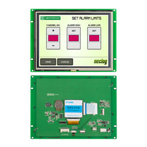 8 Hmi Serial Interface High Resolution Stone Tft Lcd Display