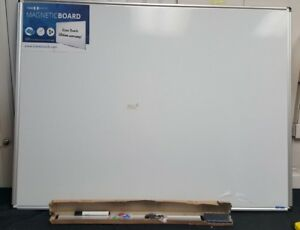 Magnetic Dry Erase Board 36x48 Brand New Sealed In Box Whiteboard Aluminum Back